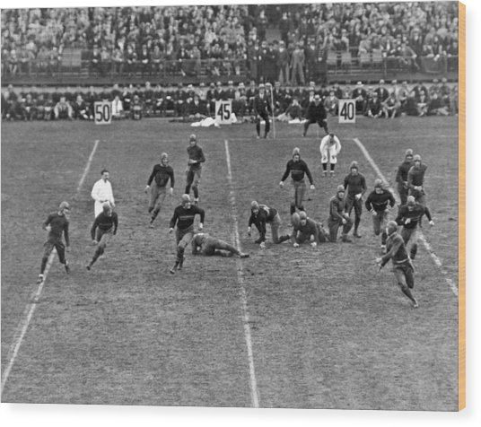 Notre Dame-army Football Game Wood Print