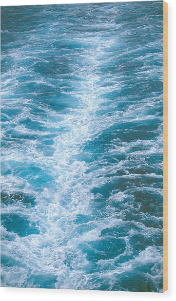 Ocean View. Wood Print by Oscar Williams