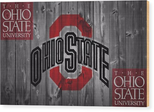 Ohio State Buckeyes Wood Print