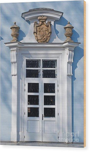 Old Door Wood Print by Sarka Olehlova