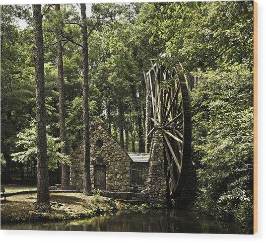 Old Mill Wood Print