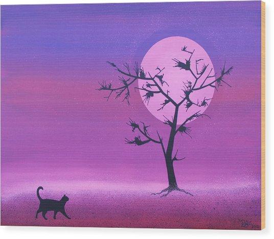 Omen Wood Print by Lance Bifoss