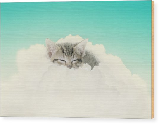 On Cloud Nine Wood Print