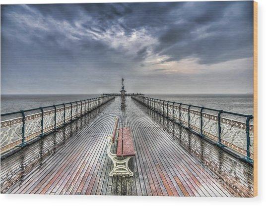 Penarth Pier 4 Wood Print