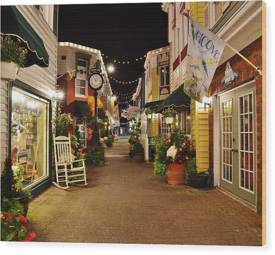 Penny Lane - Rehoboth Beach Delaware Wood Print