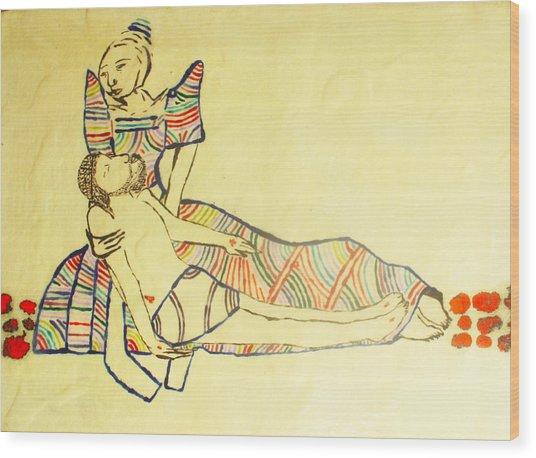 Pieta Wood Print