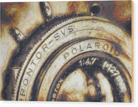 Polaroid Pathfinder  Wood Print