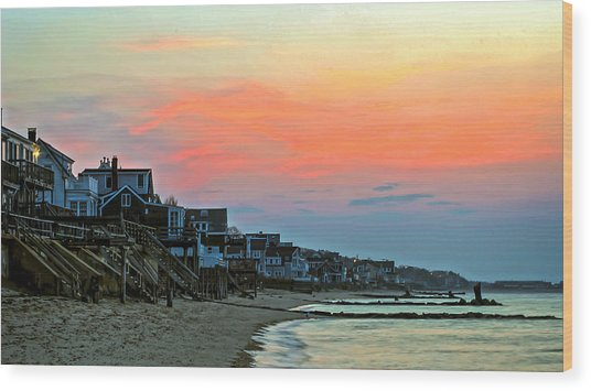 Provincetown Dawn Wood Print