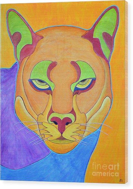 Puma 1 Wood Print