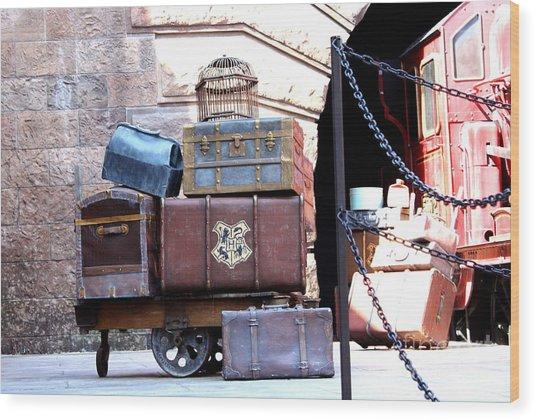 Ready For Hogwarts Wood Print
