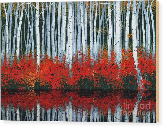Reflections - Sold Wood Print