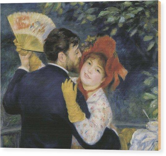 Renoir, Pierre-auguste 1841-1919. Dance Wood Print by Everett