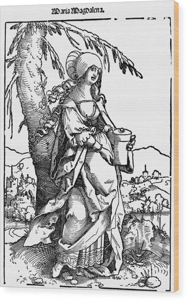 Saint Mary Magdalene Wood Print by Granger