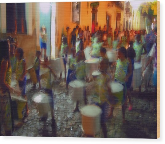 Salvador De Bahia Brasil 2006 World Cup Wood Print