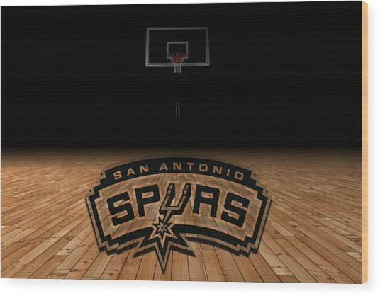 San Antonio Spurs Wood Print