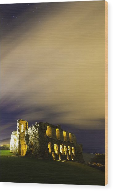 Sandsfoot Castle  Wood Print by Ollie Taylor