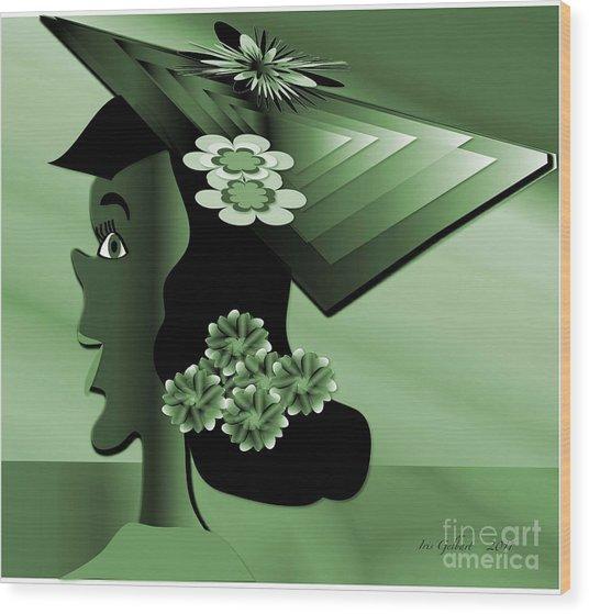 Sarah Wood Print by Iris Gelbart