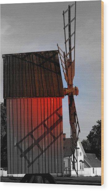 Scene @ Oland Sweden Wood Print
