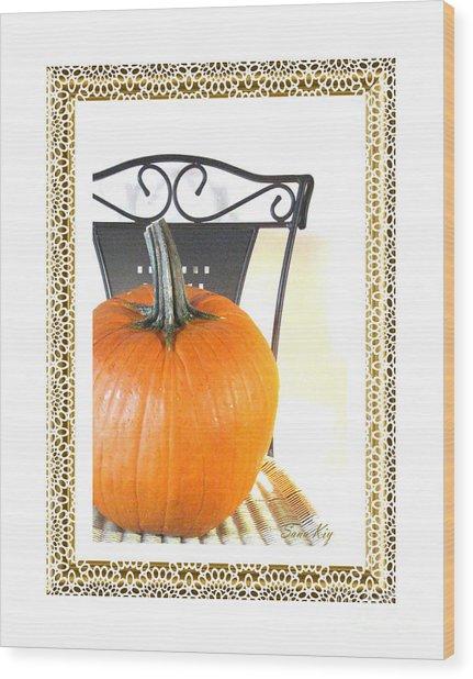 Season's Greetings Wood Print