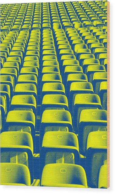 Seats Wood Print