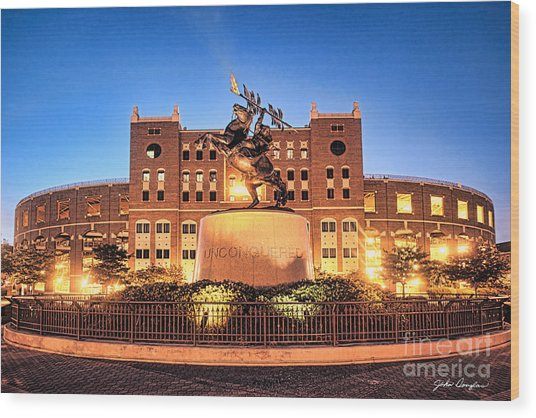 Seminole Fire - Unconquered Wood Print