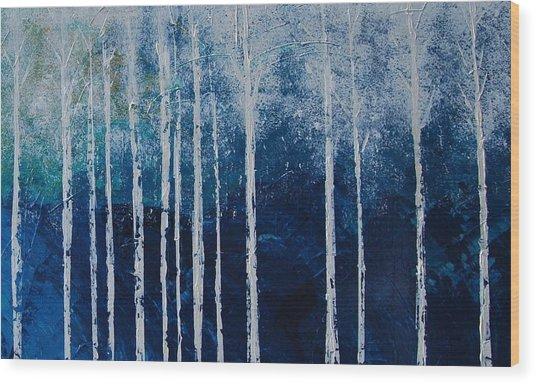 Shivver Wood Print