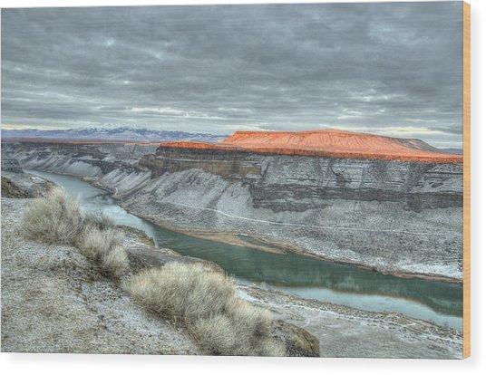 Snake River Canyon  Wood Print