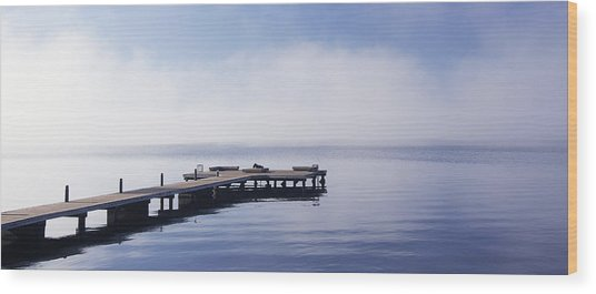 Wood Print featuring the photograph Solitude by Vicki Hone Smith