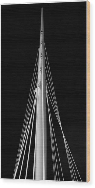 Spire Wood Print