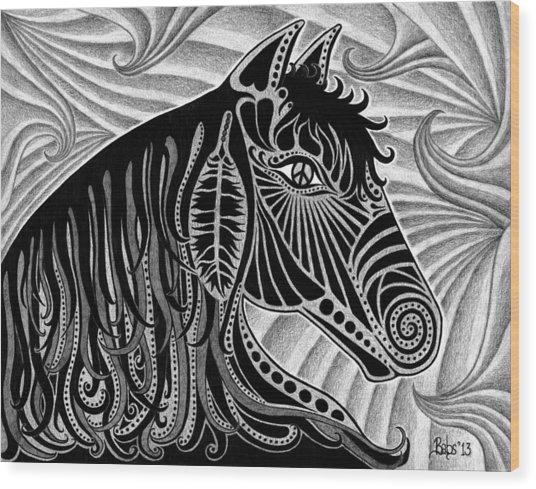 Spirit Of Freedom Wood Print
