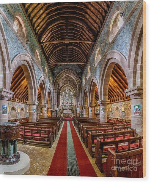 St Mary Wood Print