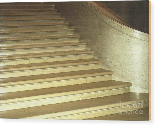 Stairs 8 Wood Print