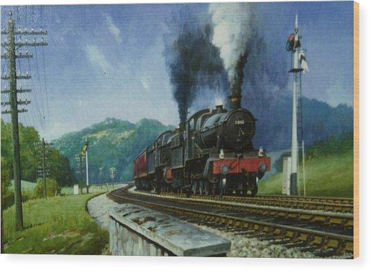 Storming Dainton Wood Print