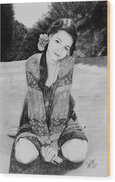 Summer Loving Wood Print