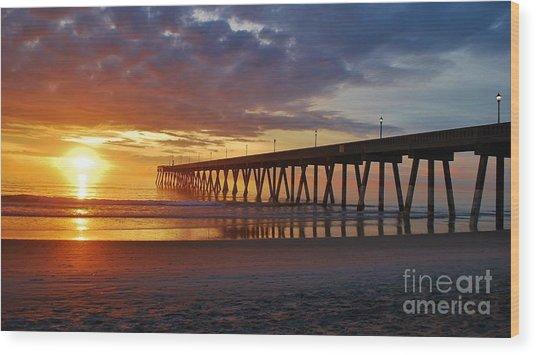 Sunrise Panorama  16x9 Ratio Wood Print
