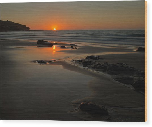 Sunset At Sennen Wood Print
