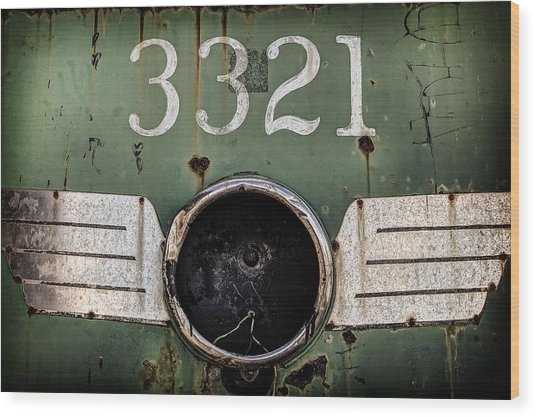 The 3321 Wood Print