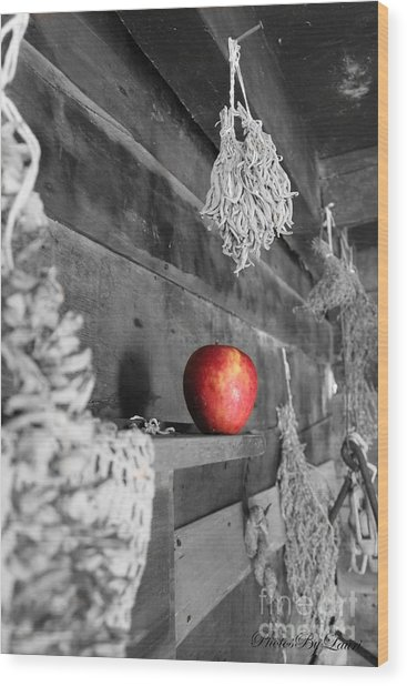 The Apple Wood Print