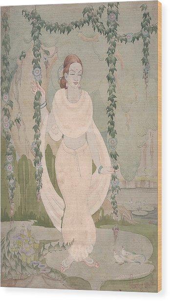The Divine Beauty Wood Print