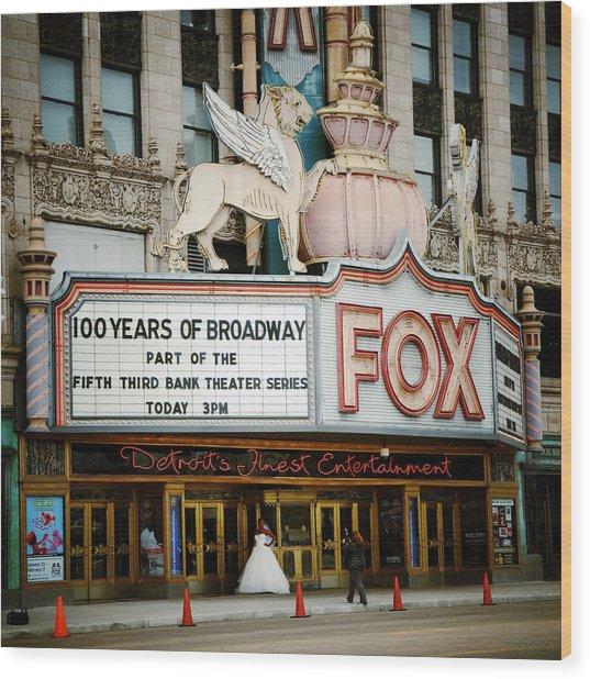 The Fox Theatre Wood Print