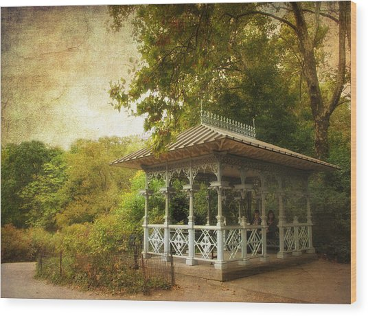 The Ladies Pavilion Wood Print