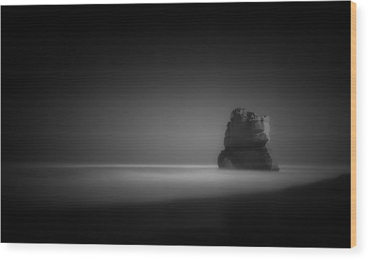 The Lonely Apostle Wood Print by Mihai Florea