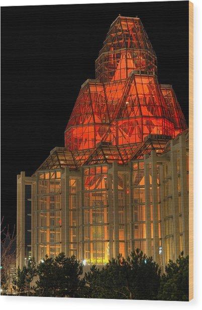 The National Art Gallery In Ottawa Wood Print