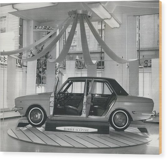 The New Humber Scepter Wood Print by Retro Images Archive