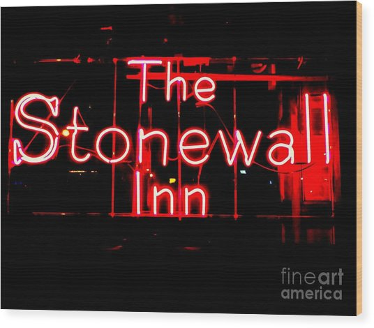 The Stonewall Inn Wood Print