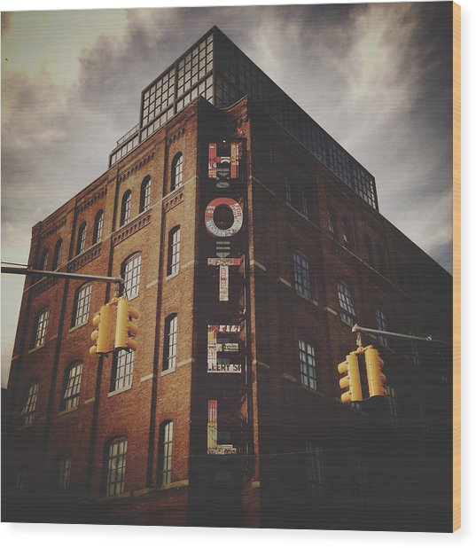 The Wythe Hotel Wood Print