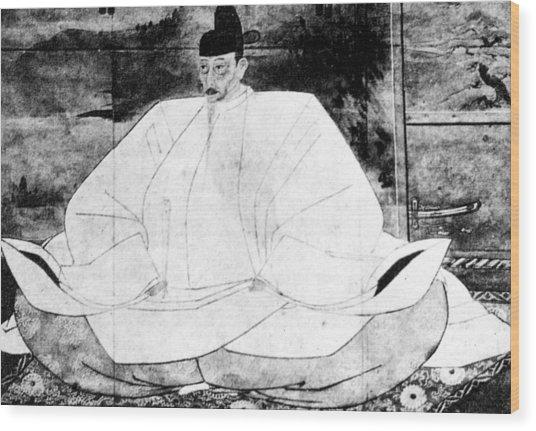 Toyotomi Hideyoshi (1536-1598) Wood Print