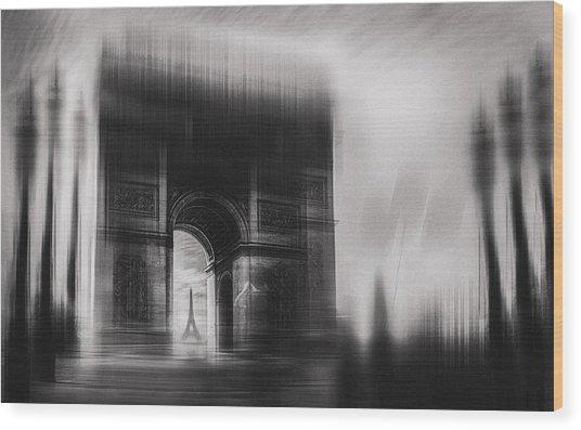 Triumphal Arch Wood Print