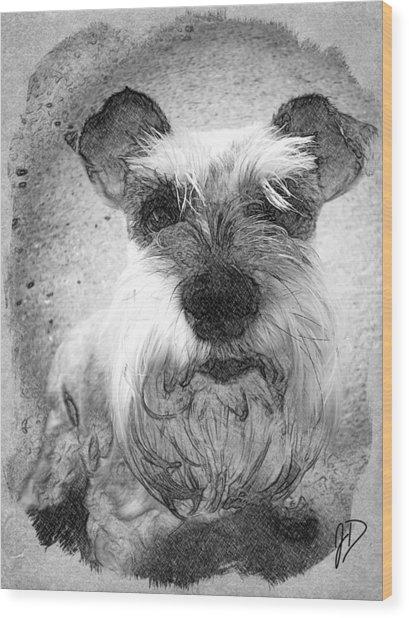 Trixie Wood Print