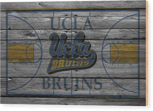 Ucla Bruins Wood Print